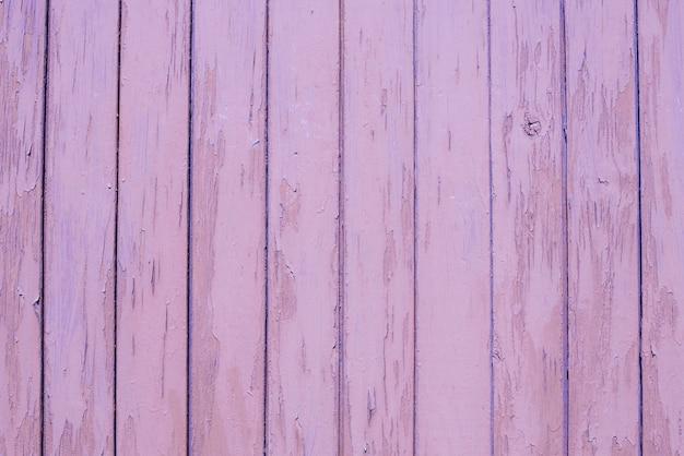 Fond en bois lilas de planches, texture. espace copie