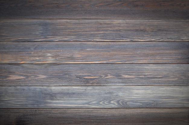 Fond en bois marron fait de planches design