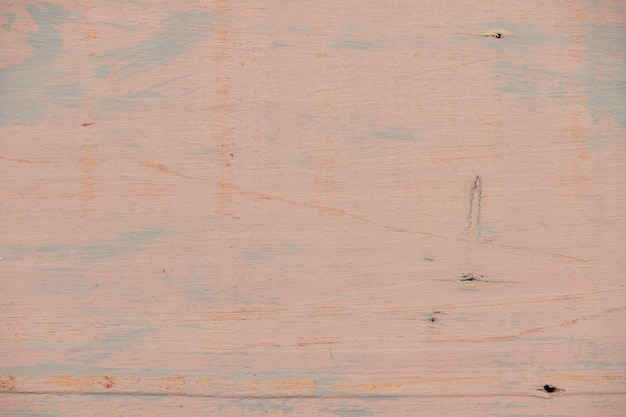 Fond en bois naturel peint en couleur marron rouge clair, vieille planche, patiné et rayé, photo très détaillée