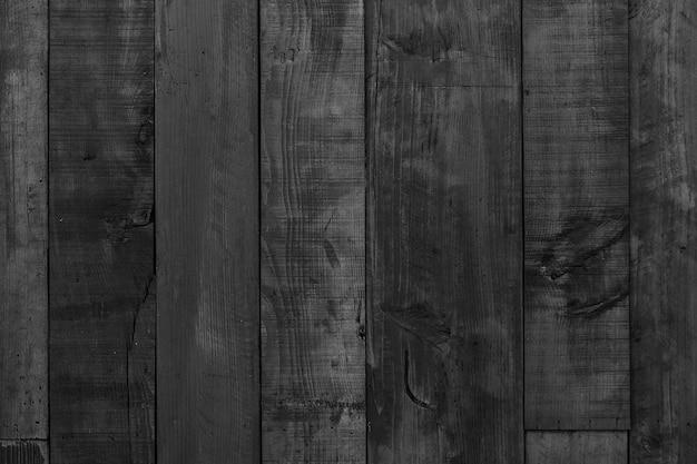 Fond en bois noir foncé