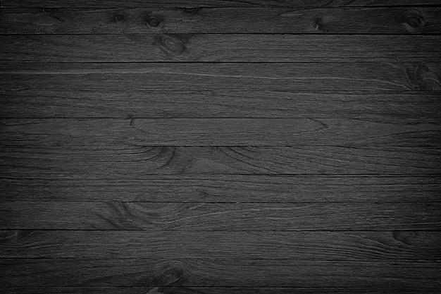 Fond en bois noir