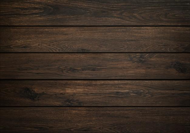 Fond de bois sombre. texture de la planche de bois. structure de la planche naturelle.