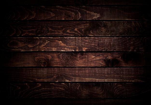 Fond de bois. texture du bois brun foncé.