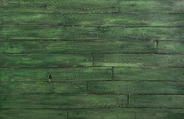 Fond en bois vert pour la saint-patrick