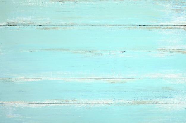 Fond de bois vintage plage - vieille planche de bois patiné peint en couleur bleue.