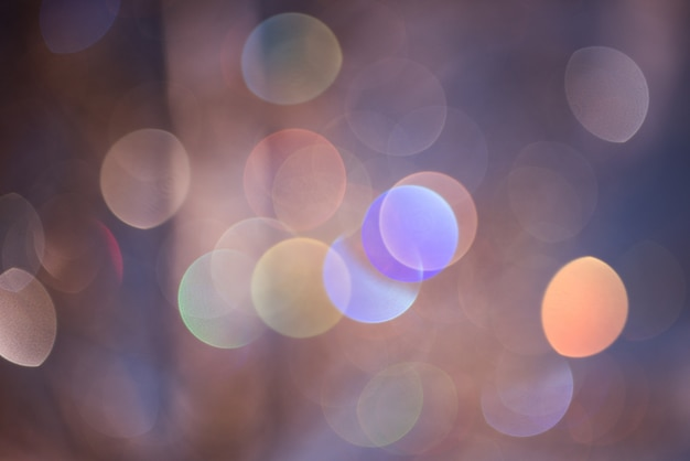 Fond De Bokeh, Abstrait. Photo Premium
