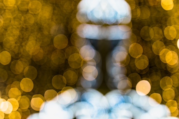 Fond de bokeh lumière texture abstraite