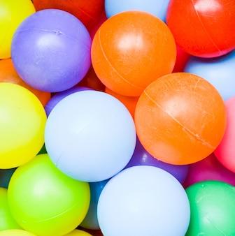 Fond de boules colorées