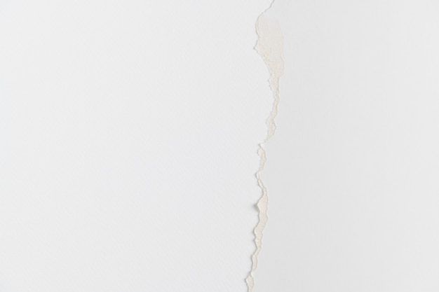Fond de bricolage frontière papier blanc déchiré