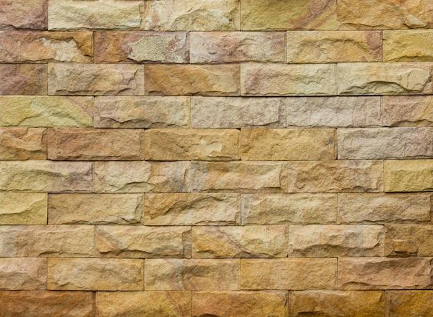 Fond de brique de pierre