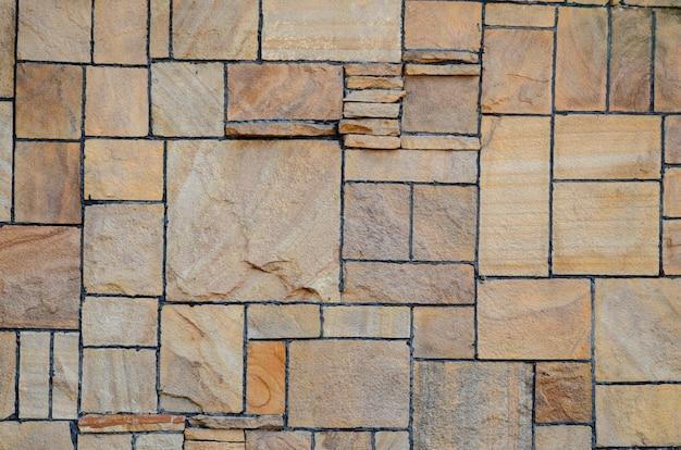 Fond de brique et de pierre.