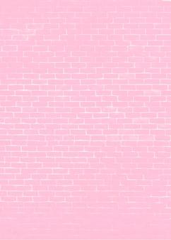 Fond de brique rose vif