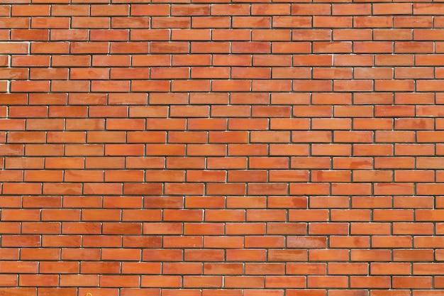 Fond de brique rouge et texture