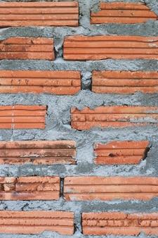 Fond de brique.