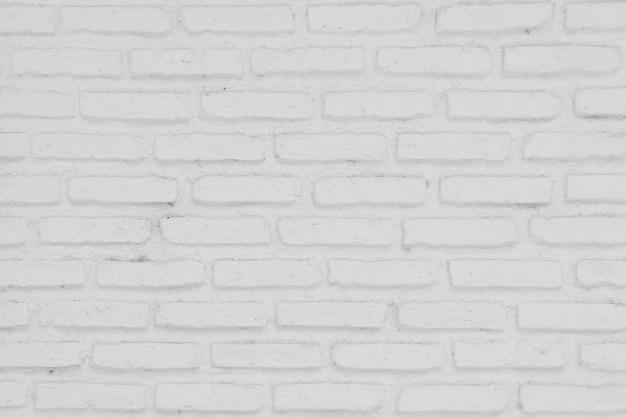 Fond de briques blanches