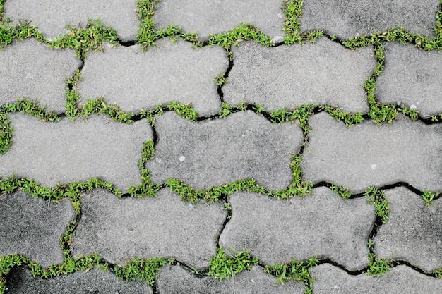 Fond de briques ondulées