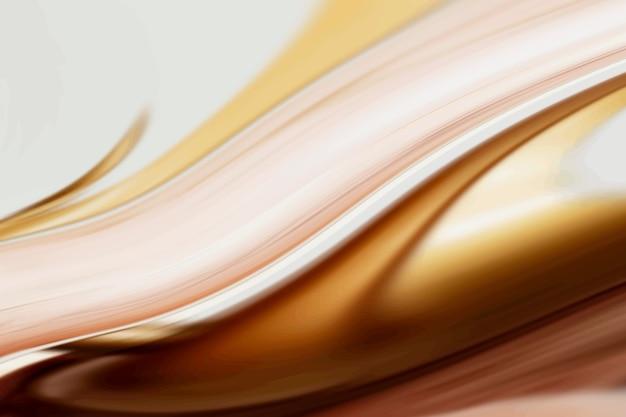 Fond brun et or luxueux