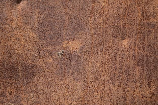 Fond brun de la plaque rouillée