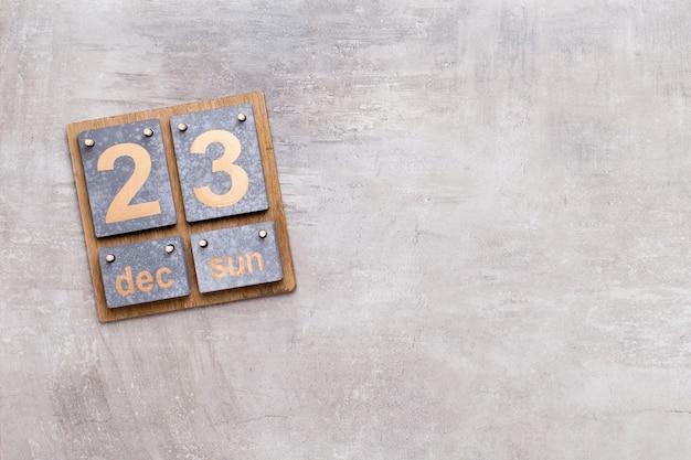 Fond de calendrier de noël. arrière-plans de carte de voeux de noël.