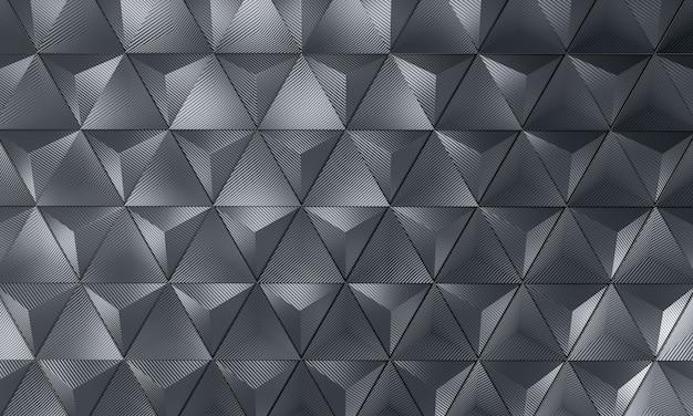 Fond carbone géométrique