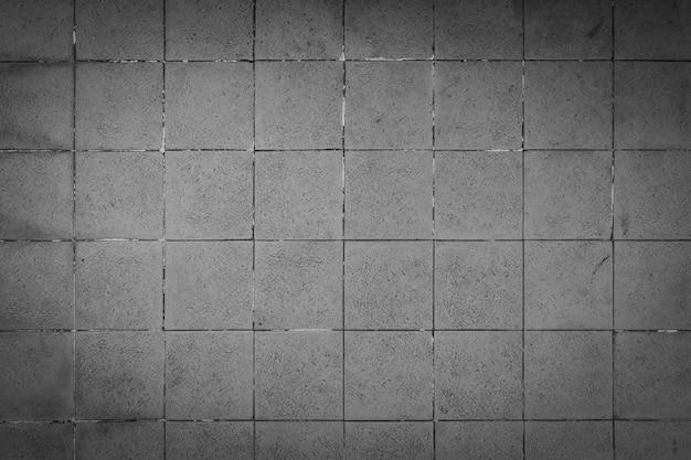 Fond carré en béton