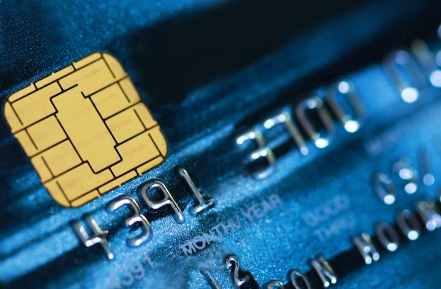 Fond de carte de crédit