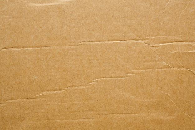 Fond de carton de texture de feuille de papier kraft recyclé eco marron