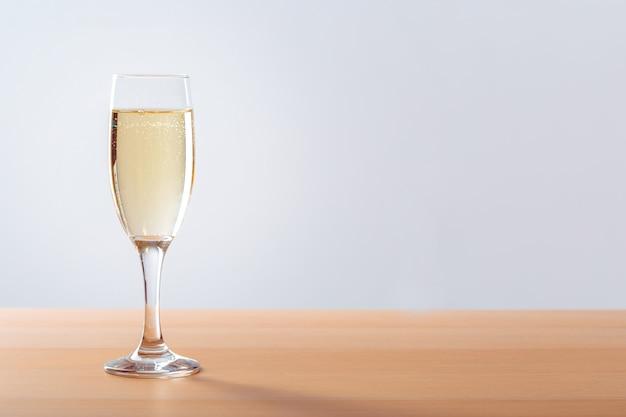 Fond de célébration du nouvel an avec champagne