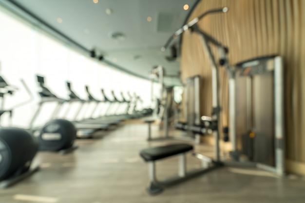 Fond de centre de fitness