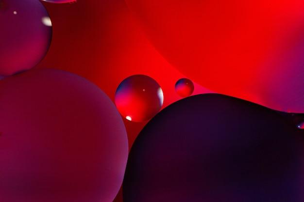 Fond de cercles noir et violet
