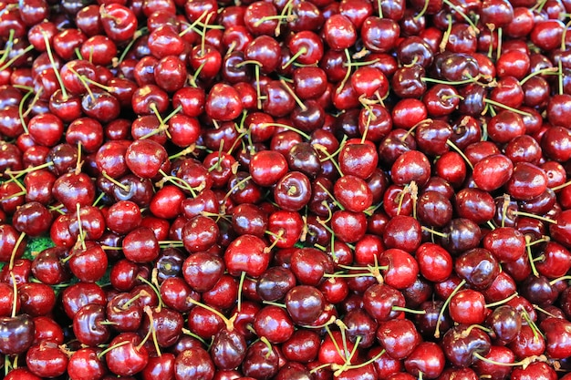 Fond de cerises douces