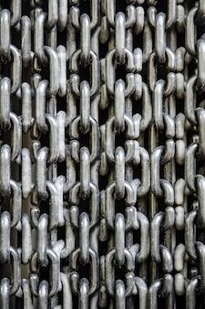 Fond de chaînes de metail