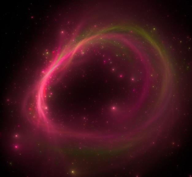 Fond de champ étoile coloré