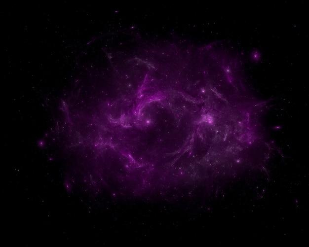 Fond de champ étoile. espace extra-atmosphérique étoilé