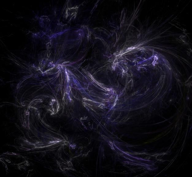 Fond de champ étoile. fond de l'espace extra-atmosphérique étoilé.