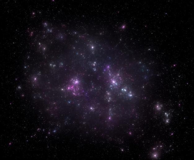 Fond de champ étoile. texture d'arrière-plan étoilé