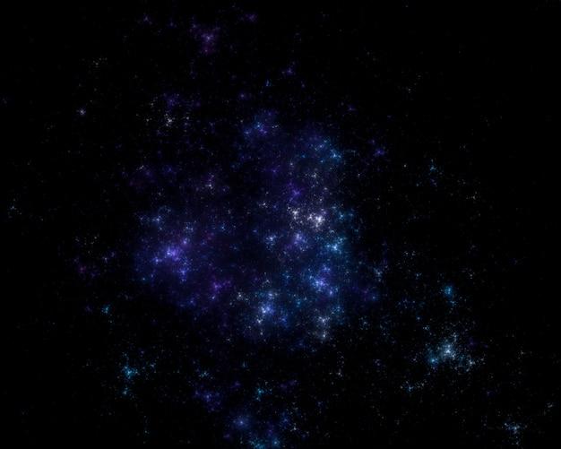 Fond de champ d'étoiles
