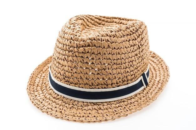 Fond chapeau blanc belle usure