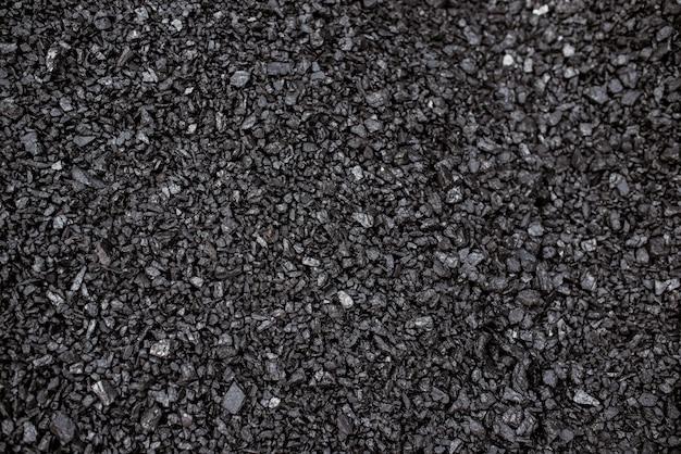 Fond de charbon noir.