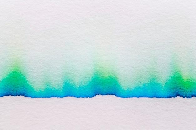 Fond de chromatographie abstrait esthétique dans le ton vert