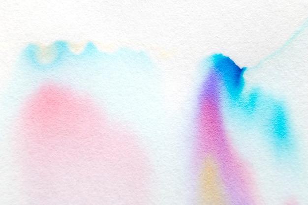 Fond de chromatographie abstrait esthétique dans les tons colorés