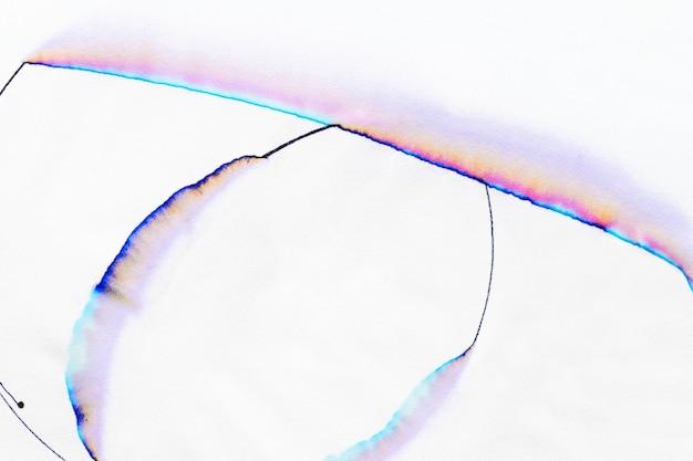 Fond de chromatographie abstrait esthétique dans les tons pastel