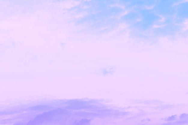 Fond de ciel abstrait en dégradé pastel