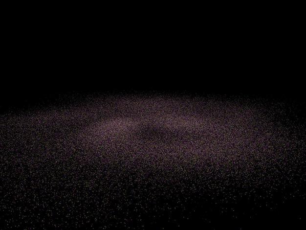 Fond de ciel nocturne, rendu 3d