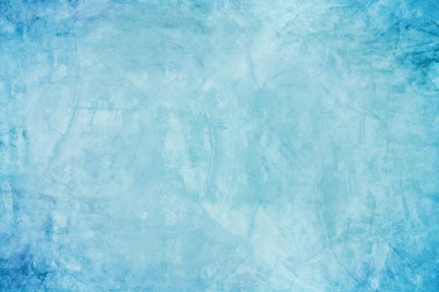 Fond de ciment bleu grunge foncé