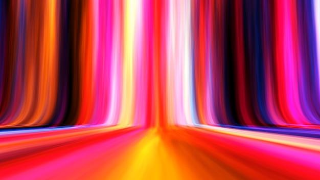 Fond Clair Abstrait Dégradé De Ligne Colorée Photo Premium