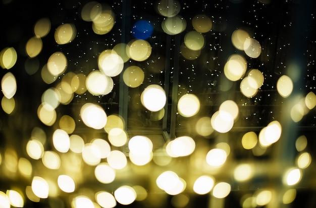 Le fond clair boken, lumière floue autour