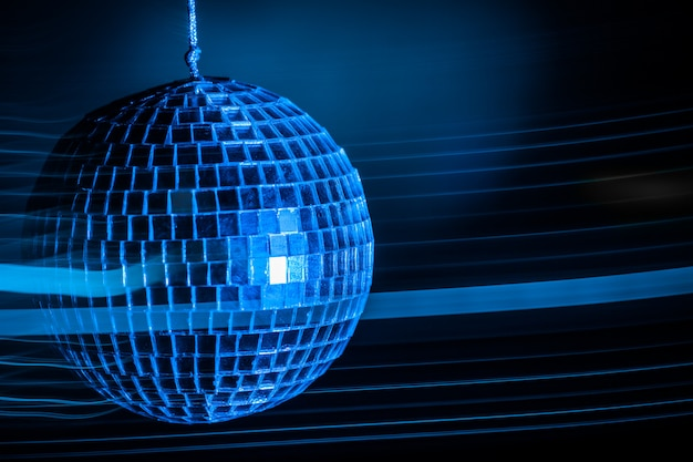Fond clair boule disco