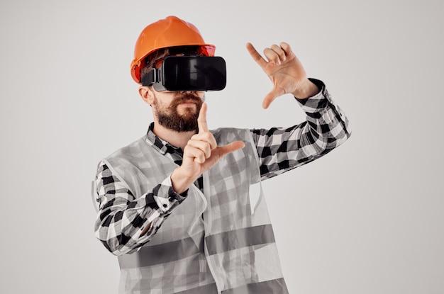 Fond clair de conception de technique de travail de construction d'ingénieur