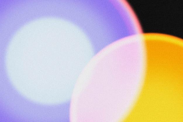 Fond clair avec lampe de projecteur de coucher de soleil